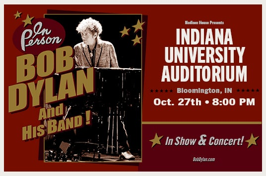 More Info for Bob Dylan & His Band