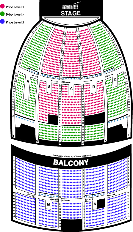 Prices 53 50 73 Seating Chart