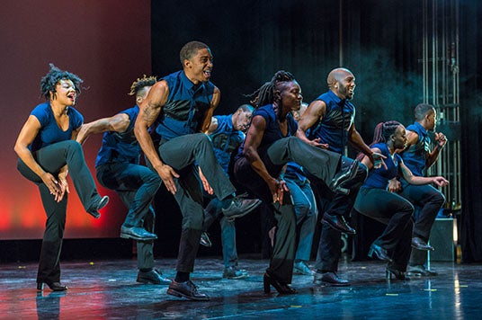 IU Auditorium and Union Board Present Step Afrika! Live at Kinsey Hollow April 23